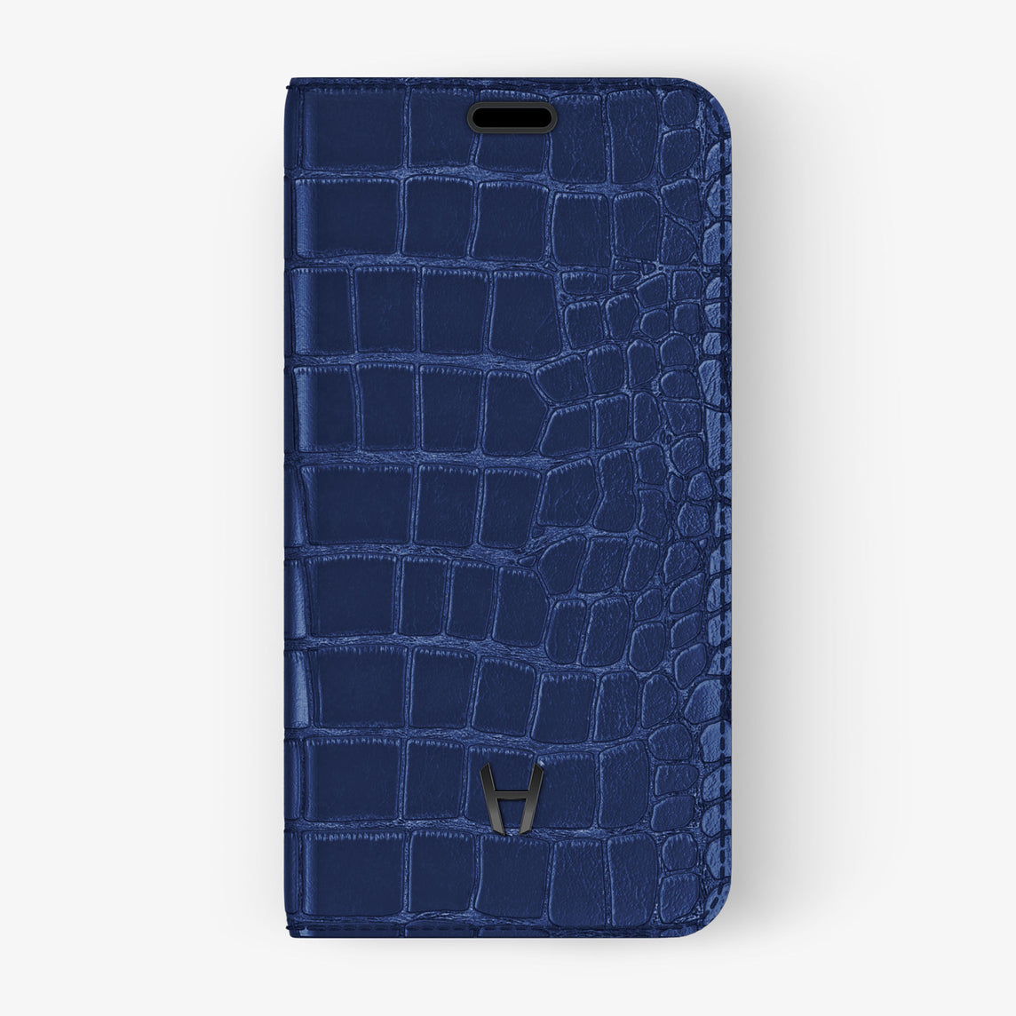 Alligator Folio Case iPhone 11 Pro | Navy Blue - Black