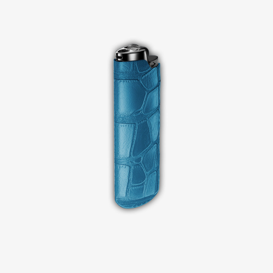 Alligator Lighter Case | Blue Lagoon