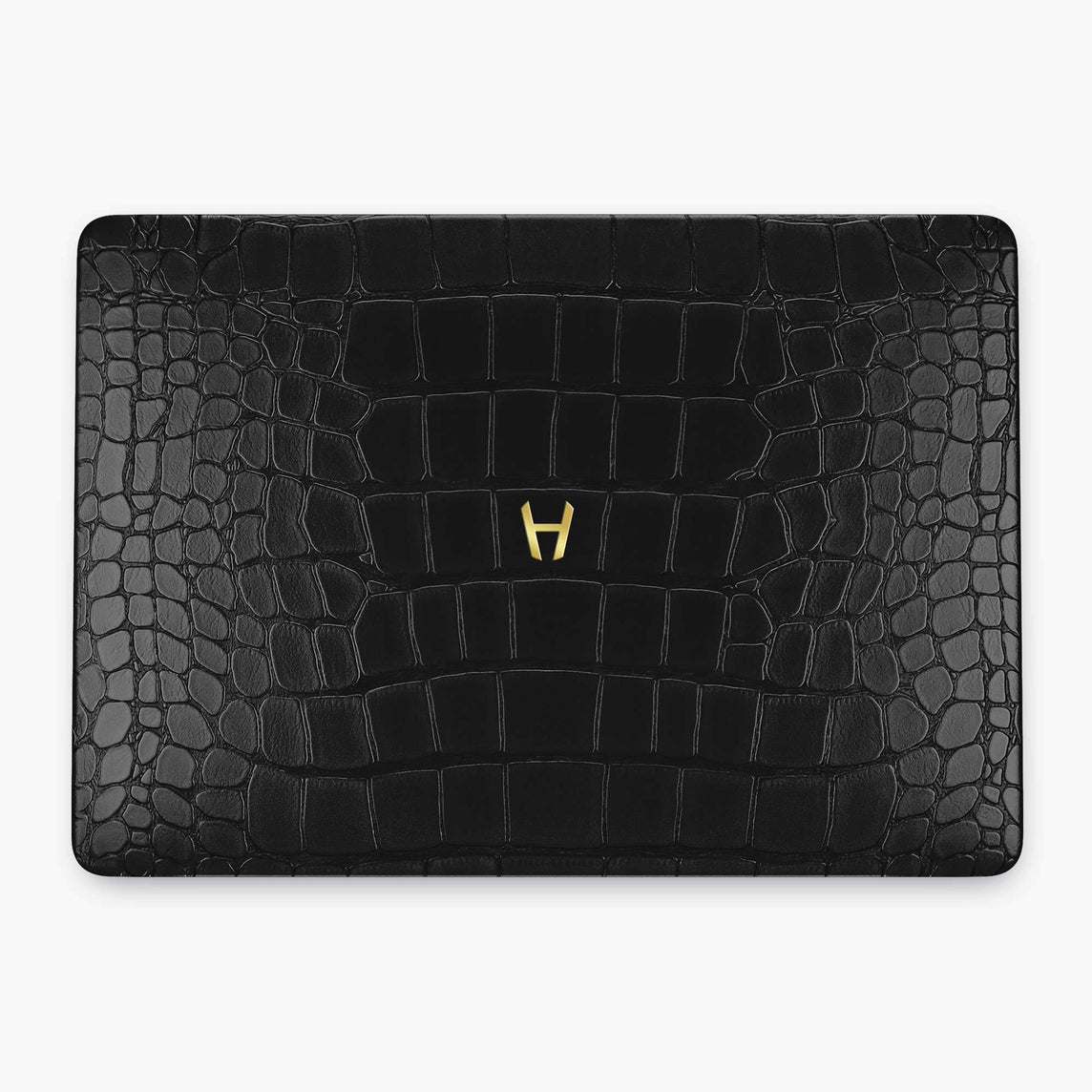 Alligator Macbook Case Apple Mac Book 15'' Pro | Black - Yellow Gold