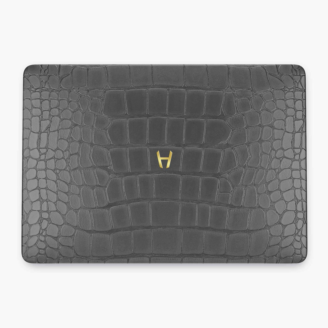Alligator Macbook Case Apple Mac Book 15'' Pro | Grey - Yellow Gold