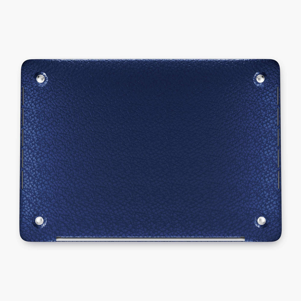 Alligator Macbook Case Apple Mac Book 15'' Pro | Navy Blue - Yellow Gold