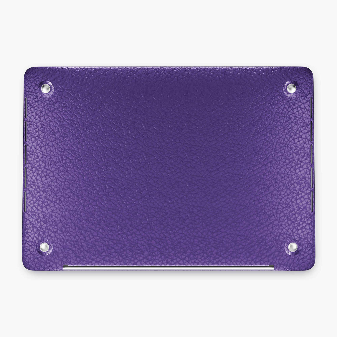 Calfskin Macbook Case Apple Mac Book 13'' Pro | Purple - Black