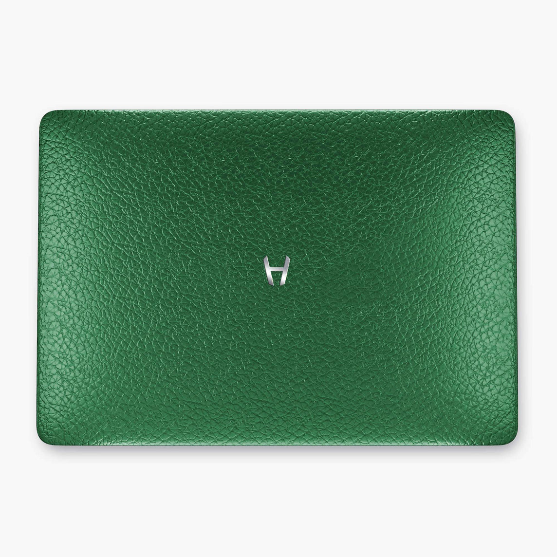 Calfskin Macbook Case Apple Mac Book Air | Green - Stainless Steel