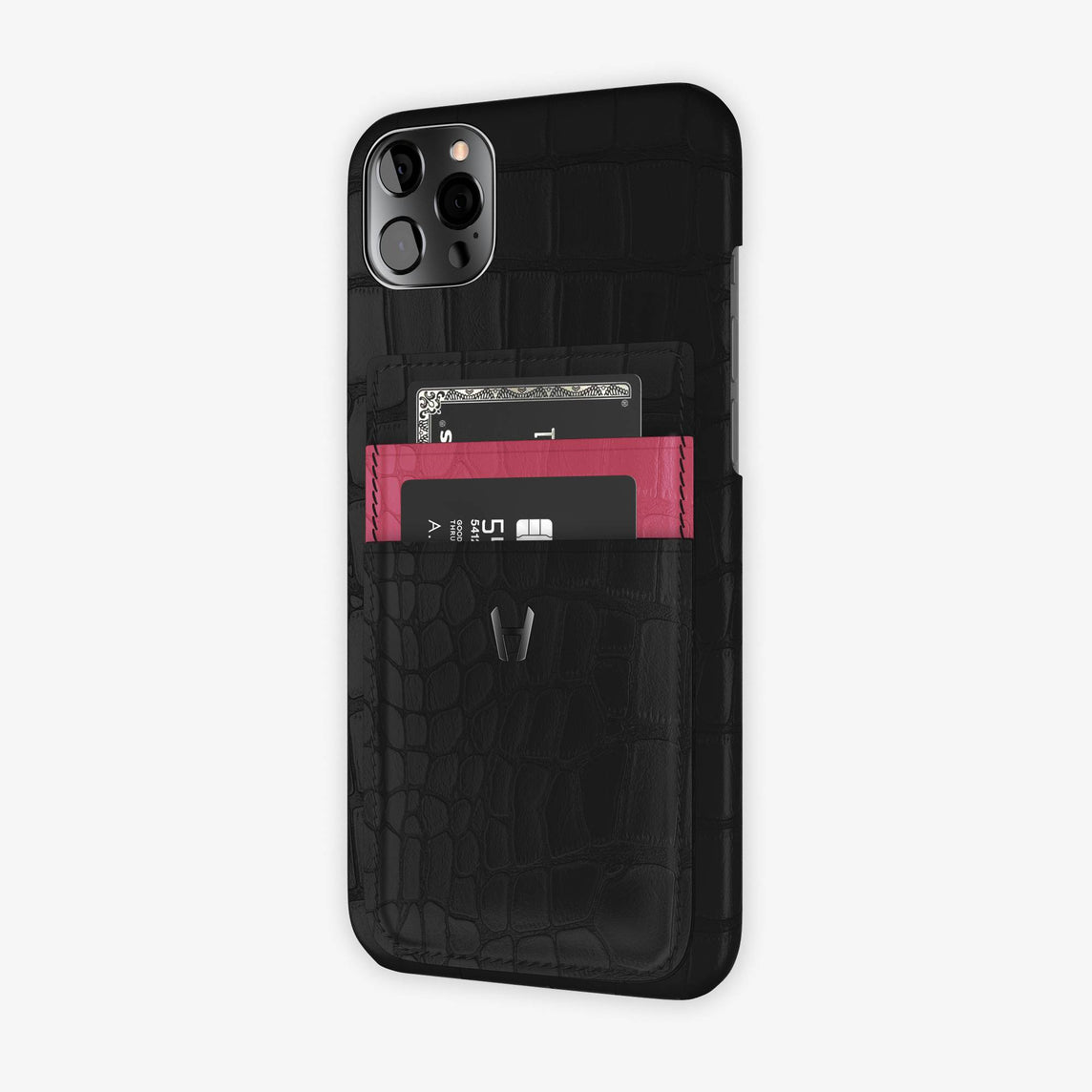 iPhone 12 Pro Max | Black/Pink Girly - Black