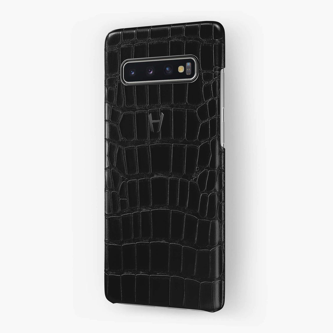Alligator Case Samsung S10 Plus | Black - Black