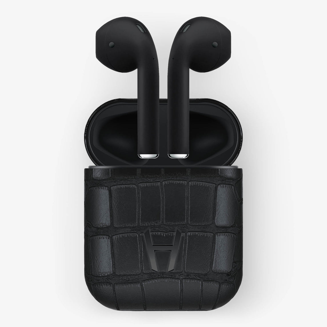 Alligator Hadoro AirPods | Black - Black without-personalization