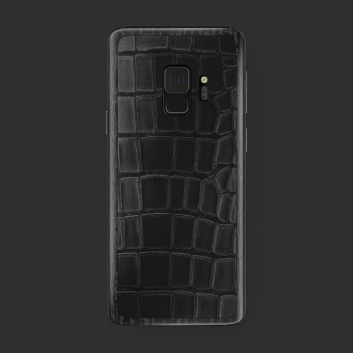 Hadoro Samsung Galaxy S9 Black Alligator | Black