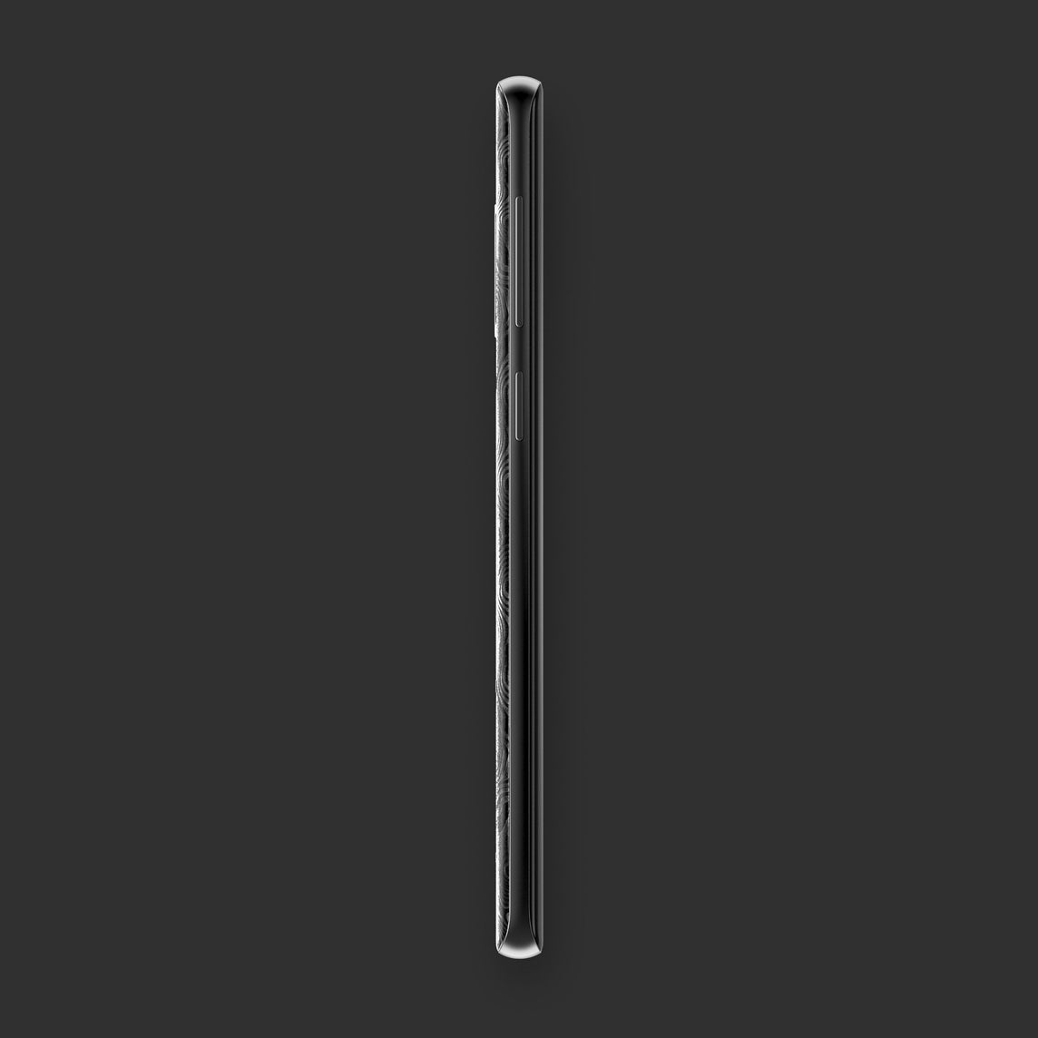 Hadoro Samsung Galaxy S9+ Black Alligator | Carbon