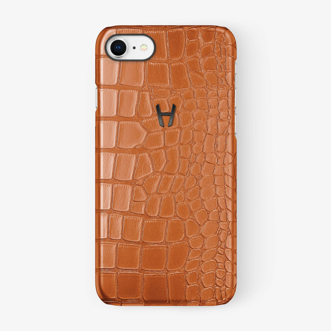 Alligator Case iPhone 7/8 | Orange - Black - Hadoro