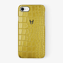 Alligator Case iPhone 7/8 | Yellow - Black