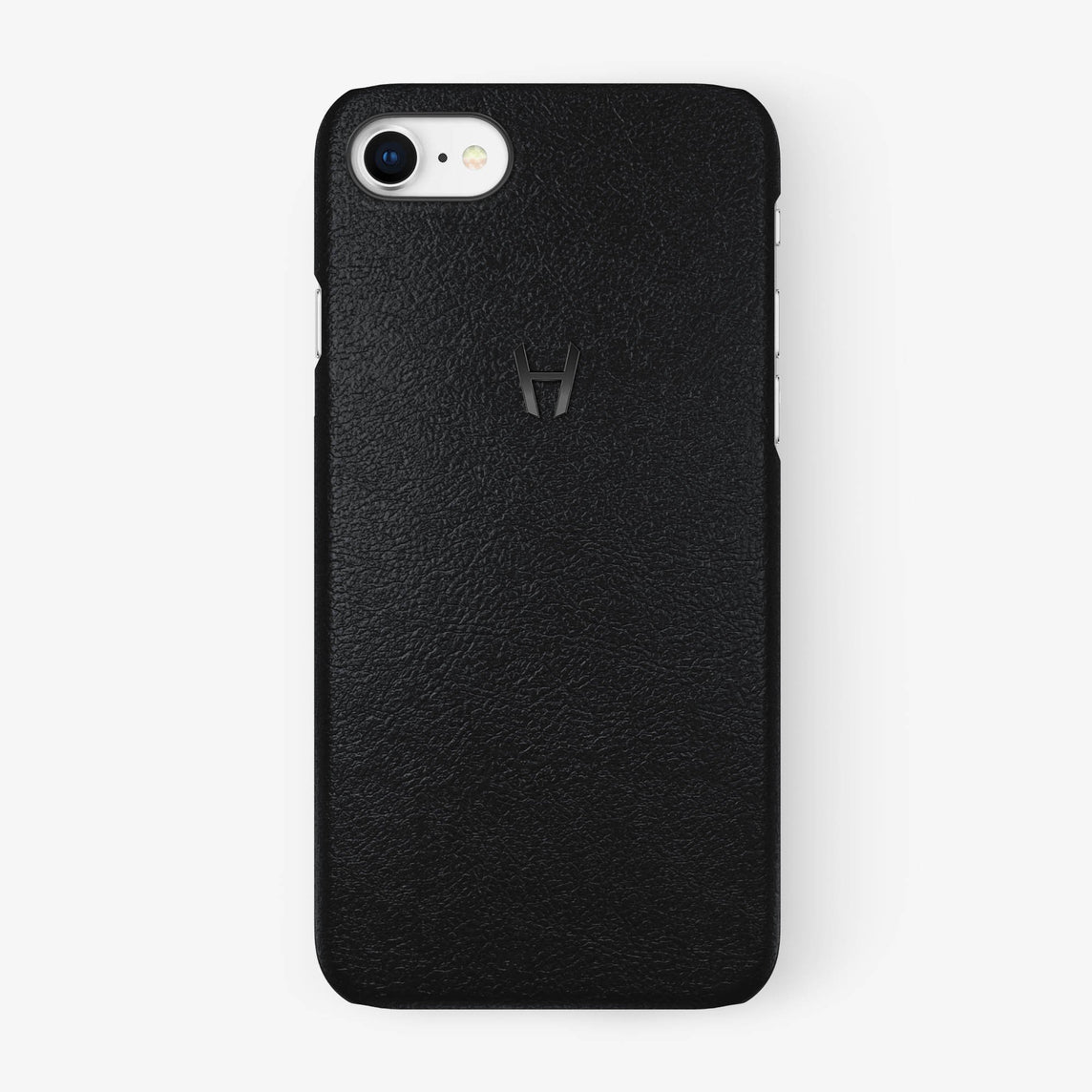 Calfskin Case iPhone 7/8 | Black - Black without-personalization