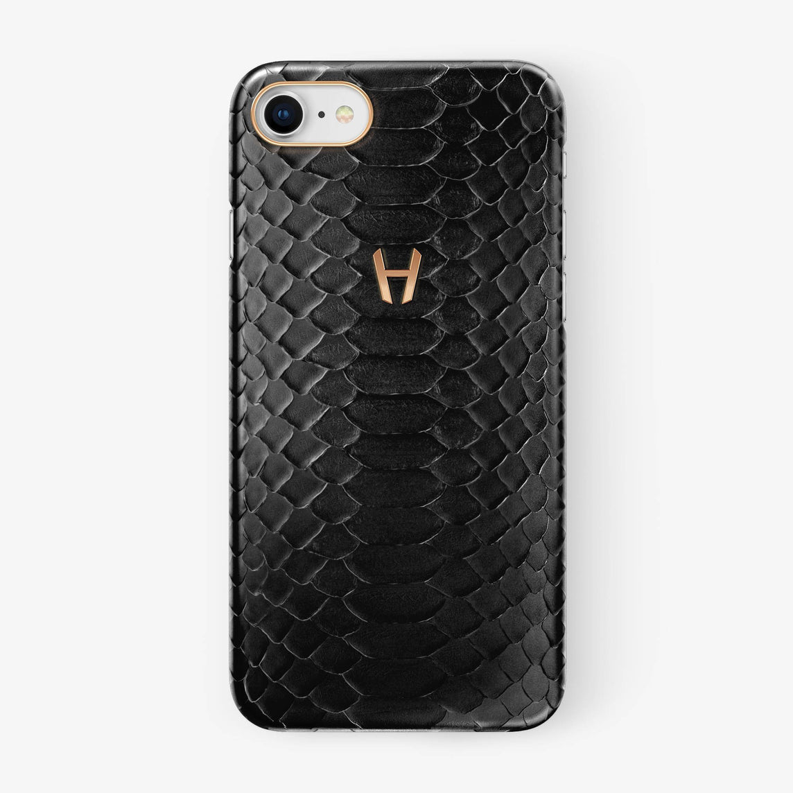 Python Case iPhone 7/8 | Black - Rose Gold without-personalization