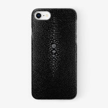 Stingray Case iPhone 7/8 | Black - Stainless Steel