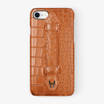Alligator Finger Case iPhone 7/8 | Orange - Black