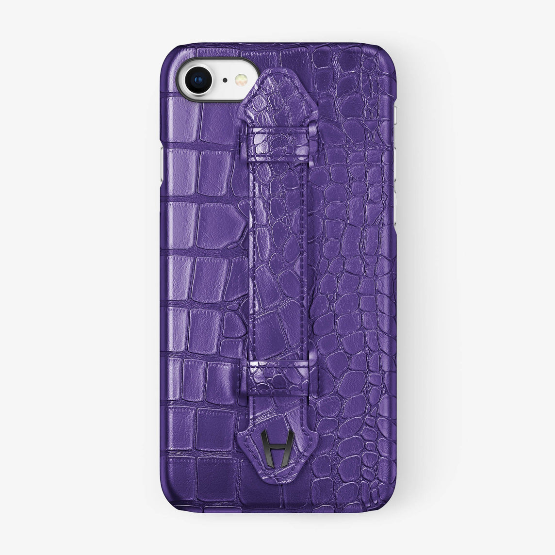 Alligator Finger Case iPhone 7/8 | Purple - Black