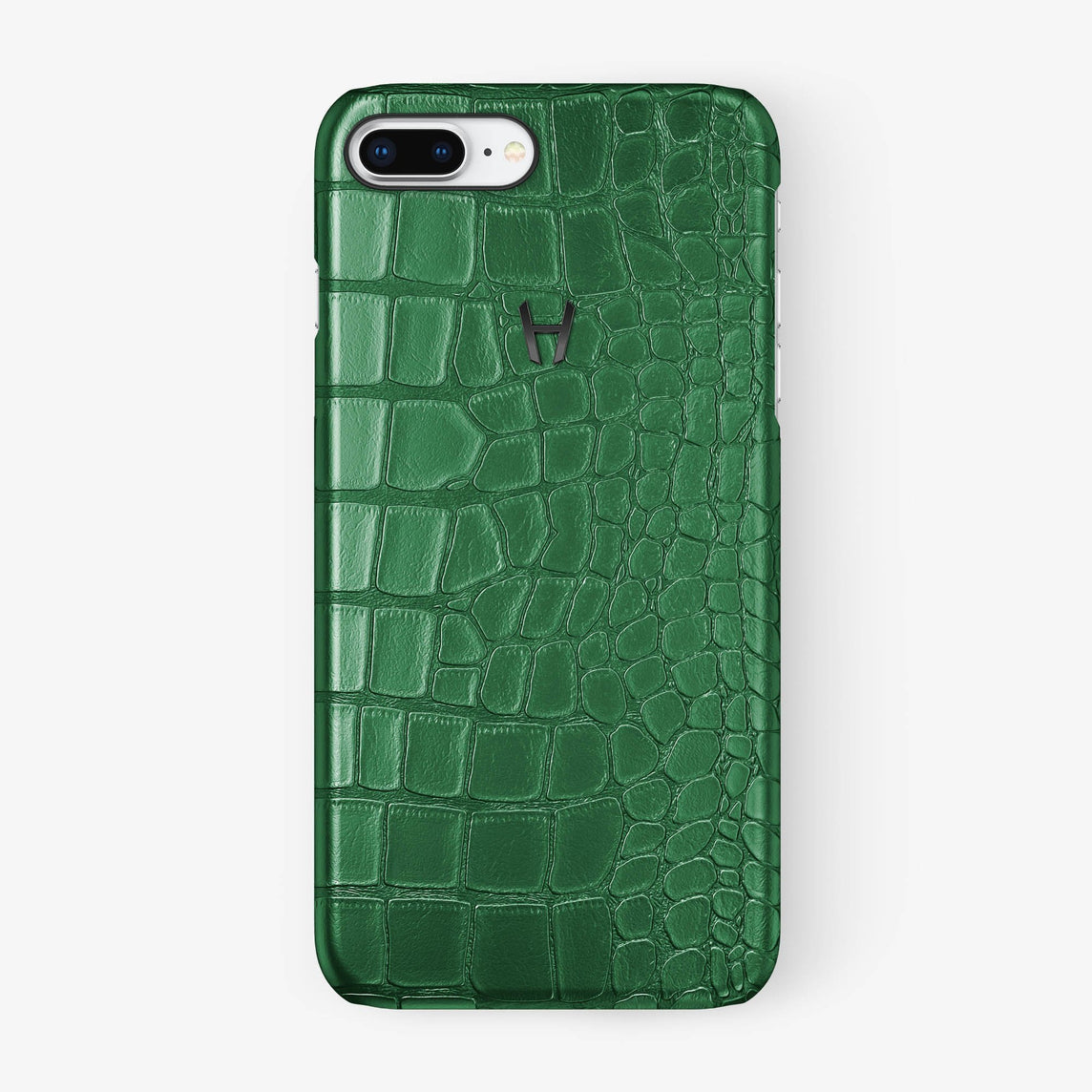 Alligator Case iPhone 7/8 Plus | Green - Black