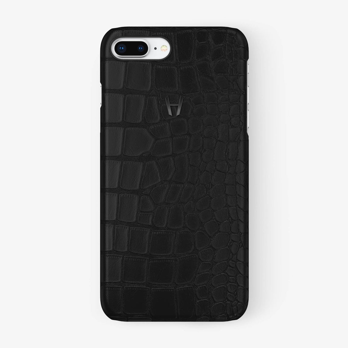 Alligator Case iPhone 7/8 Plus | Phantom Black - Black - Hadoro