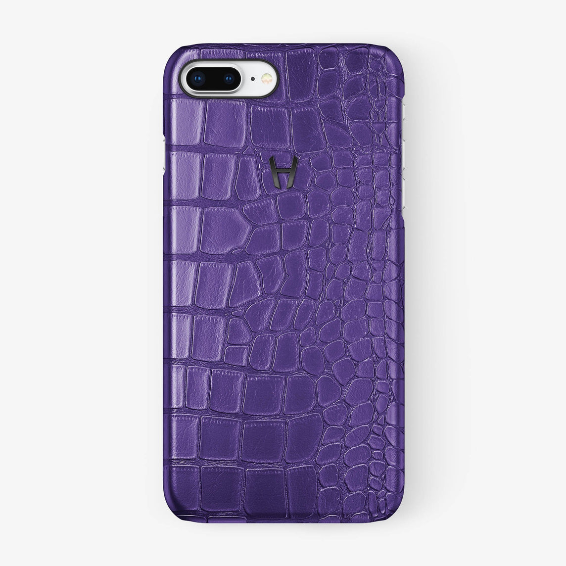 Alligator Case iPhone 7/8 Plus | Purple - Black