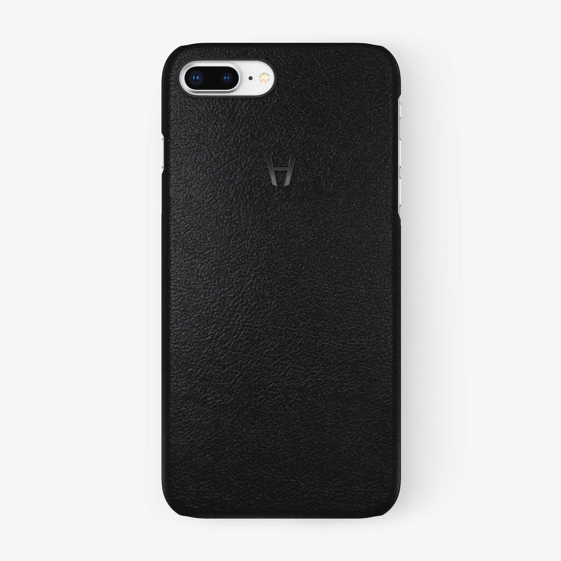 Calfskin Case iPhone 7/8 Plus | Black - Black without-personalization