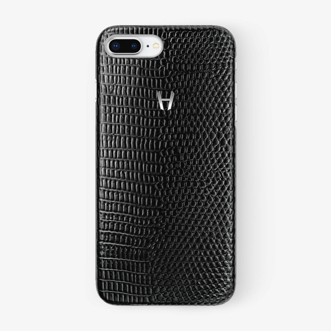 Lizard Case iPhone 7/8 Plus | Black - Stainless Steel without-personalization