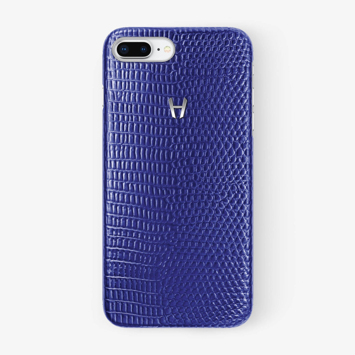 Blue Lizard iPhone Case for iPhone 7/8 Plus finishing stainless steel - Hadoro Luxury Cases