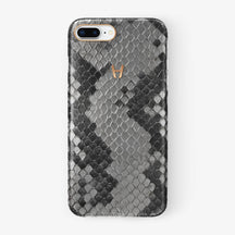 Natural Python iPhone Case for iPhone 7/8 Plus finishing rose gold - Hadoro Luxury Cases