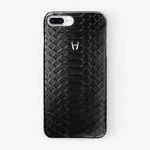 Python Case iPhone 7/8 Plus | Black - Stainless Steel without-personalization