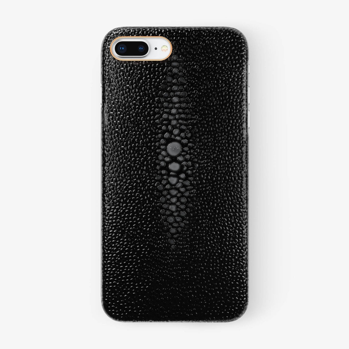 Stingray Case iPhone 7/8 Plus | Black - Rose Gold