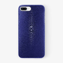 Stingray Case iPhone 7/8 Plus | Blue - Stainless Steel