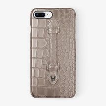 Alligator Finger Case iPhone 7/8 Plus | Latte - Black
