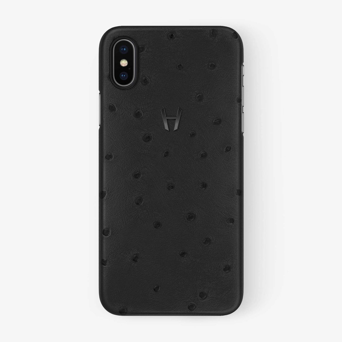 Ostrich Case iPhone Xs Max | Anthracite - Black withouth-personalization
