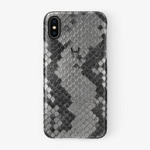 Python Case iPhone X/Xs | Natural - Black without-personalization