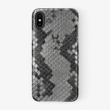 Python Case iPhone Xs Max | Natural - Black without-personalization