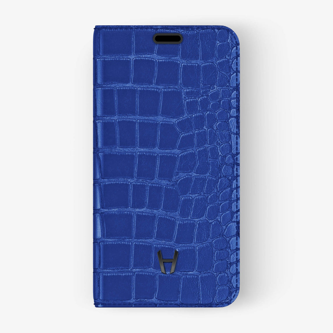 Alligator Folio Case iPhone Xr | Peony - Black without-personalization