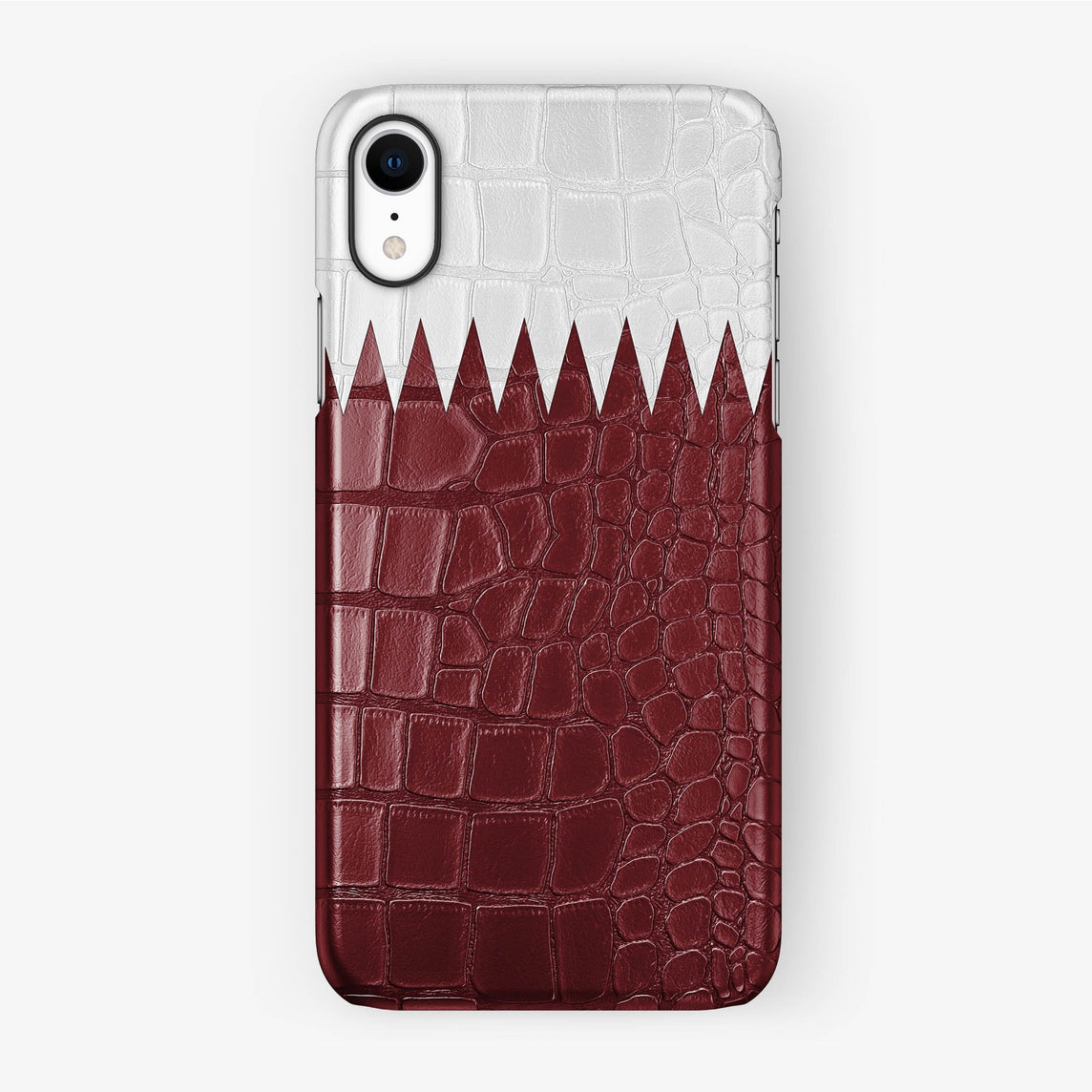 Alligator Qatar Case iPhone Xr |  Black without-personalization
