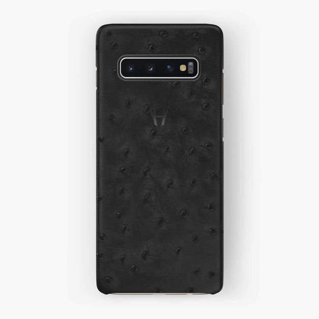 Ostrich Case Samsung S10 | Anthracite - Black