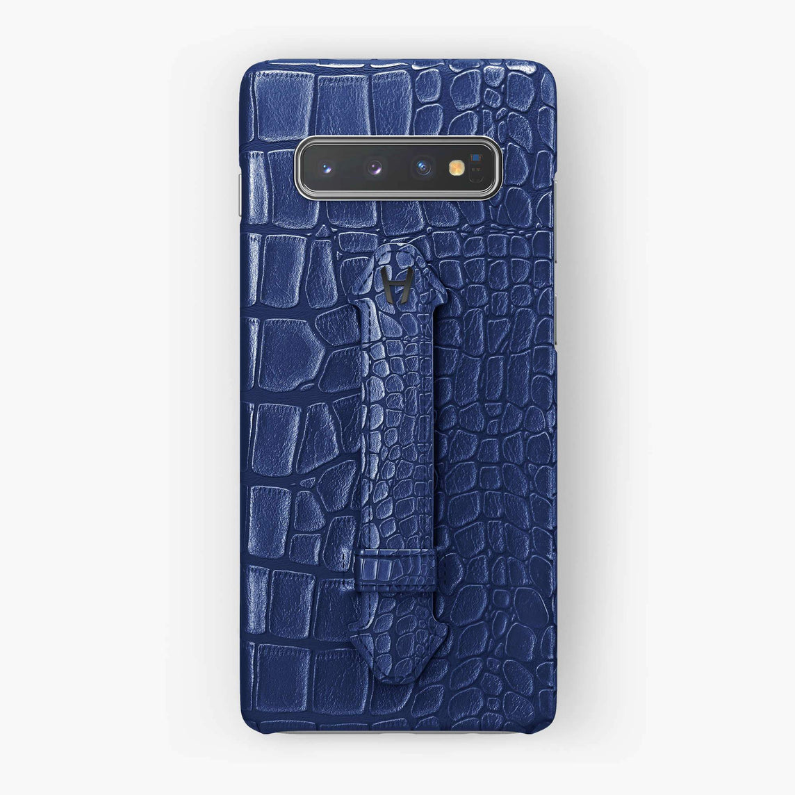 Alligator Finger Case Samsung S10 Plus | Navy Blue - Black