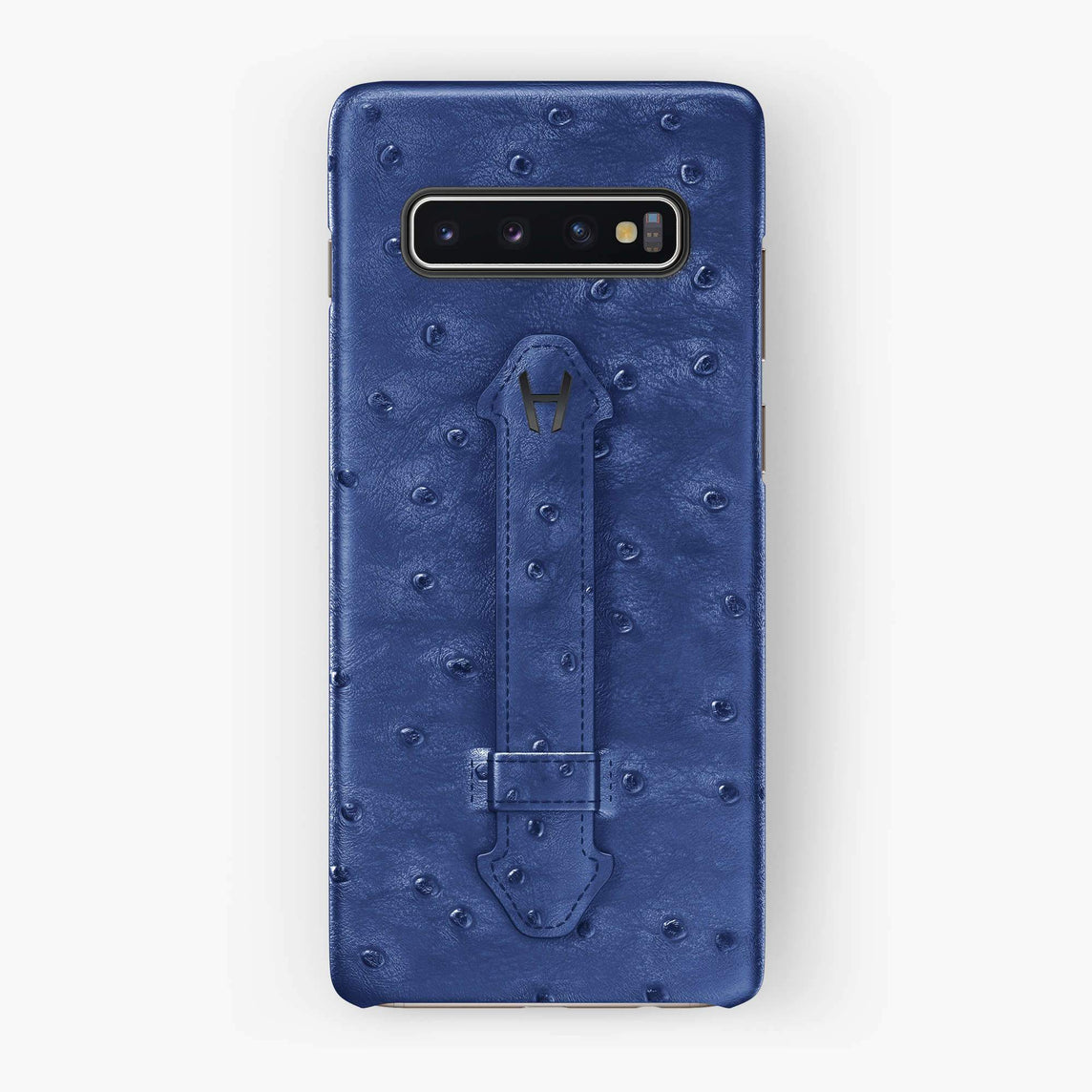 Ostrich Finger Case Samsung S10 Plus | Blue - Black without-personalization