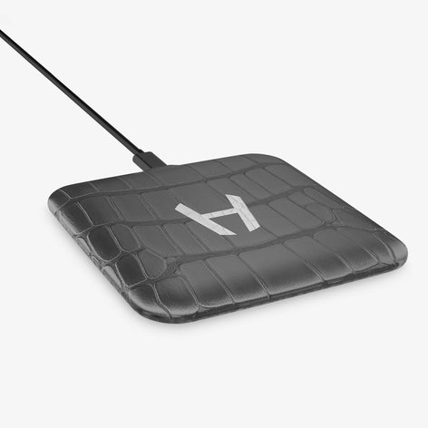 Alligator Hadoro Wireless Charging Pad | Grey - Stainless Steel without-personalization