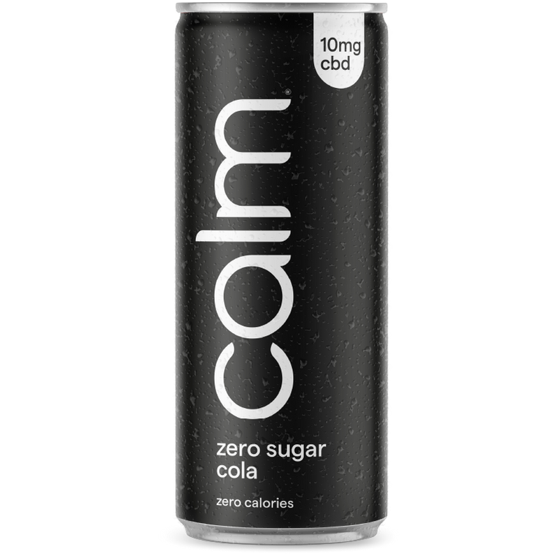 Zero Sugar Cola CBD Infused