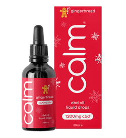 Gingerbread CBD Oil Drops 1200mg (4%) 30ml