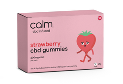 Strawberry CBD Gummies 10 Pack - 200mg