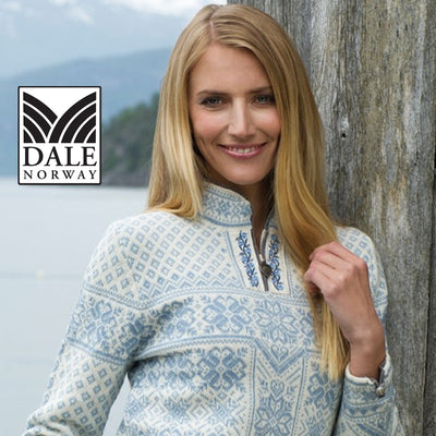 Dale of Norway sweaters at Morsel Munk
