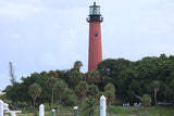 Having docktails with a view of Jupiter Lighthouse in Jupiter Florida