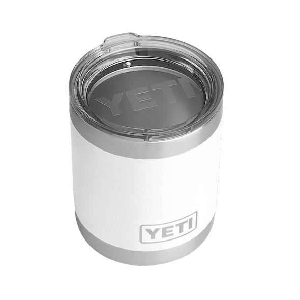 YETI 10 ounce Rambler Lowball in white