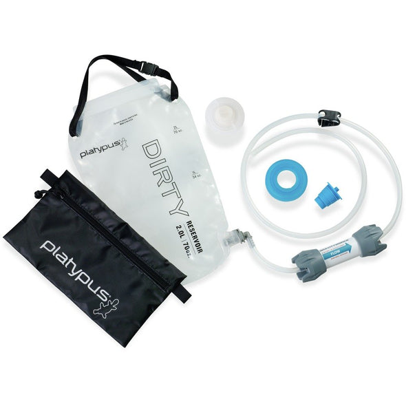Platypus GravityWorks 2.0 Liter Pump-Free Microfilter Water System - Complete Kit