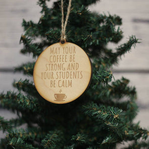 Driftless Studios - Calm Students Christmas Ornament