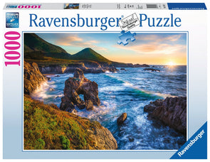 Ravensburger Big Sur Sunset 1000 piece puzzle