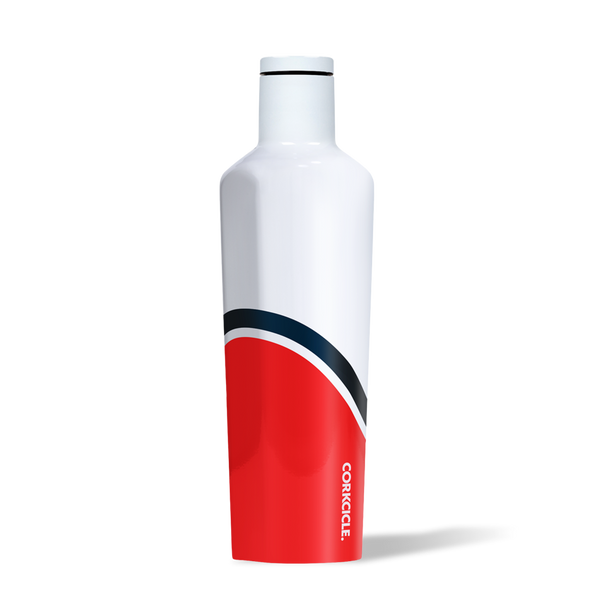 Corkcicle 25 ounce Canteen in Regatta Red