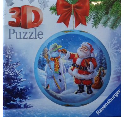 Christmas 3D Ravensburger Puzzles - Choose From 1 of 3 Designs